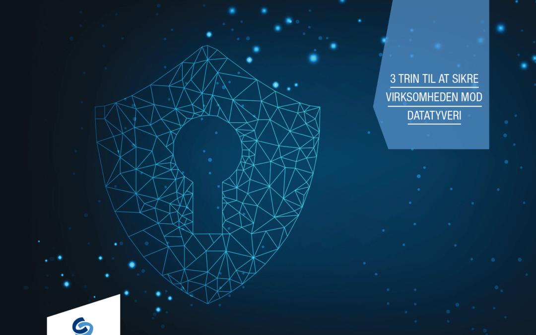 Nyt Whitepaper: 3 trin til at sikre virksomheden mod datatyveri