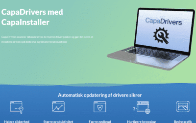 CapaDrivers lukker kritiske sikkerhedshuller