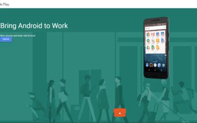 Android Enterprise – Part One