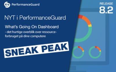 PerformanceGuard gør det nemt!