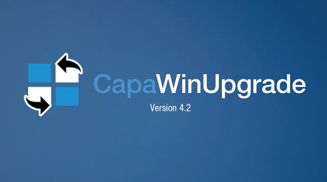 Gør CapaWinUpgrade til en leg